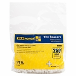 Tile Force Tile Spacers 1/8 250PK
