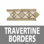 Travertine Borders and Bullnose