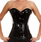 323 Authentic Pvc Overbust Corset