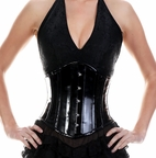 326 Authentic Pvc Underbust Corset
