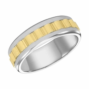 ArtCarved 7mm 14K Gold Reverse True Comfort Fit Ring
