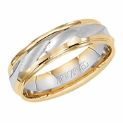 ArtCarved Arimiss 6mm 14K Gold True Two Tone Ring