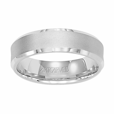 ArtCarved Boundless 6mm 14K White Gold Ring