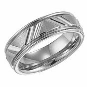 ArtCarved Calvert 7mm Tungsten Carbide Ring