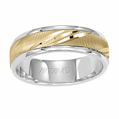 ArtCarved Connection 6mm 14K Reverse True Ring