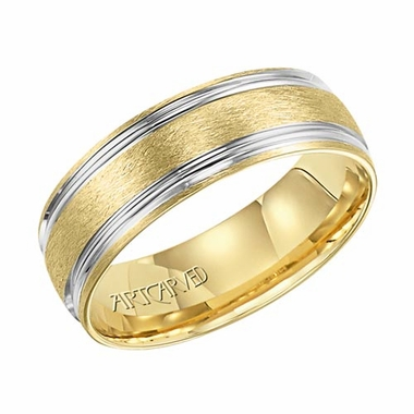 ArtCarved Snyder 7mm 14K True Two Tone Ring