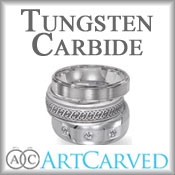 ArtCarved Tungsten Carbide