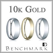 Benchmark 10K Gold Wedding Bands