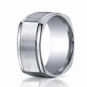 Benchmark 10mm ARGO Silver Ring with Four Sided Design