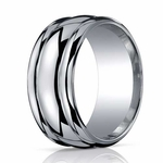 Benchmark 10mm Comfort Fit High Polished ARGO Silver Ring