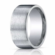 Benchmark 10mm Comfort Fit Satin ARGO Silver Ring
