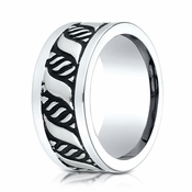 Benchmark 10mm Polished Cobalt Chrome Ring