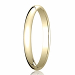 Benchmark 2.5mm 18K Yellow Gold Traditional Wedding Band