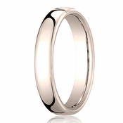 Benchmark 4.5mm 14K Rose Gold Euro Comfort Fit?Wedding Band