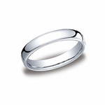 Benchmark 4.5mm Classic Flat Comfort-Fit Cobalt Chrome Ring