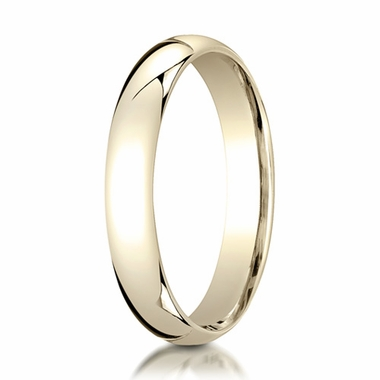 Benchmark 4mm 14K Yellow Gold Super Light Comfort Fit Ring