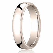 Benchmark 5.5mm 14K Rose Gold Euro Comfort Fit� Wedding Band