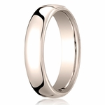 Benchmark 5.5mm 14K Rose Gold Euro Comfort Fit?Wedding Band
