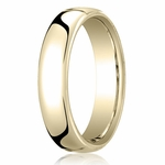 Benchmark 5.5mm 14K Yellow Gold Euro Comfort Fit� Wedding Band