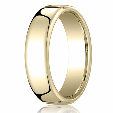 Benchmark 6.5mm 14K Yellow Gold Euro Comfort Fit?Wedding Band