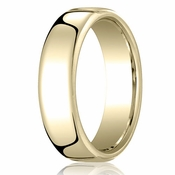 Benchmark 6.5mm 18K Yellow Gold Euro Comfort Fit?Wedding Band