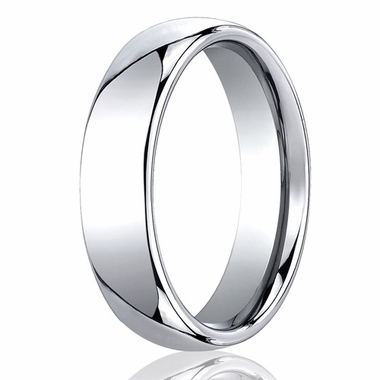 Benchmark 6mm Classic Round Comfort-Fit Cobalt Chrome Ring