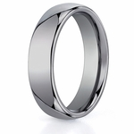 Benchmark 6mm Classic Round Comfort-Fit Tungsten Ring