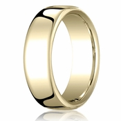 Benchmark 7.5mm 14K Yellow Gold Euro Comfort Fit� Wedding Band