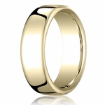 Benchmark 7.5mm 18K Yellow Gold Euro Comfort Fit?Wedding Band