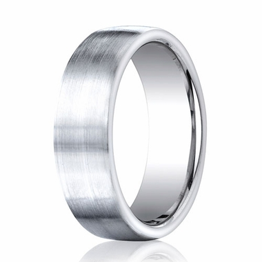 Benchmark 7.5mm Comfort Fit Cobalt Ring