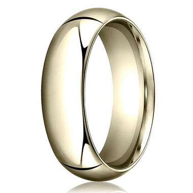 Benchmark 7mm 14K Yellow Gold Heavy Comfort Fit Wedding Band