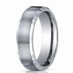 Benchmark 7mm Dual Finish Titanium Ring