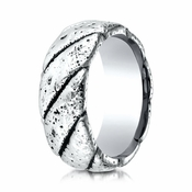 Benchmark 9mm Rustic Cobalt Chrome Ring