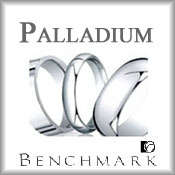 Benchmark Palladium Wedding Bands