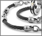 Black Cable Jewelry