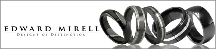Black Titanium Rings