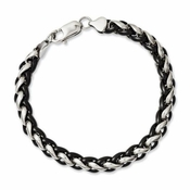 Chisel Stainelss Steel Bracelet with Black IP