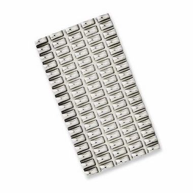 Chisel Stainless Steel Money Clip with Grooves