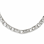 Chisel Stainless Steel Polished Links Necklace