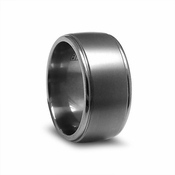 Edward Mirell 11mm Dual Finish Titanium Ring