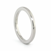 Edward Mirell 2mm Titanium Ring