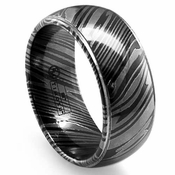 Edward Mirell 7mm Dome Timoku Ring with Step Edges