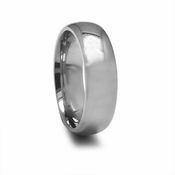 Edward Mirell 7mm High Polished Titanium Ring