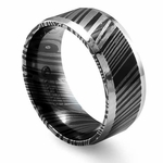 Edward Mirell 9mm Timoku Ring with Beveled Edges