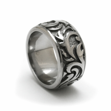 Edward Mirell Pallas 12mm Casted Titanium Band