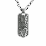 Edward Mirell Pallas Gray Titanium Necklace