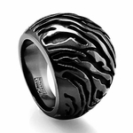 Edward Mirell Safari 19mm Black Titanium Ring