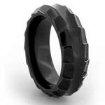 Edward Mirell Templar 8mm Black Titanium Ring