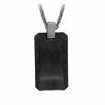 Edward Mirell Templar Black Titanium Necklace