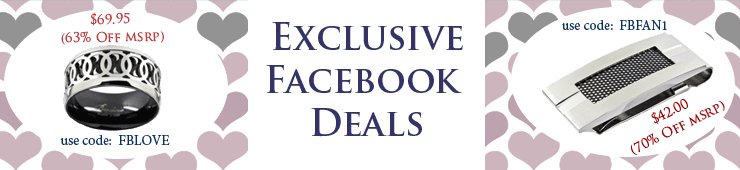 Exclusive Jewelry Deals for Facebook Fans